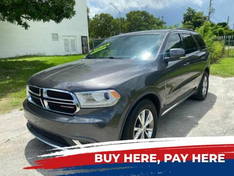 2014 Dodge Durango for sale at Nationwide Auto Finance in Miami FL