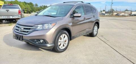2012 Honda CR-V for sale at WHOLESALE AUTO GROUP in Mobile AL