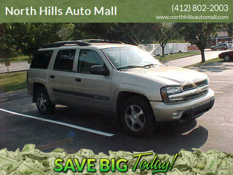 2004 Chevrolet TrailBlazer EXT for sale at North Hills Auto Mall in Pittsburgh PA