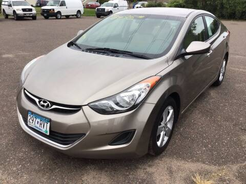 2013 Hyundai Elantra for sale at Sparkle Auto Sales in Maplewood MN