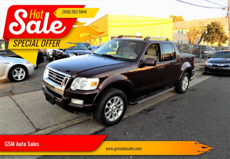2007 Ford Explorer Sport Trac for sale at GSM Auto Sales in Linden NJ