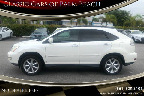 2009 Lexus RX 350 for sale at Classic Cars of Palm Beach in Jupiter FL