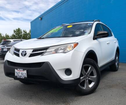 2015 Toyota RAV4 for sale at LUGO AUTO GROUP in Sacramento CA