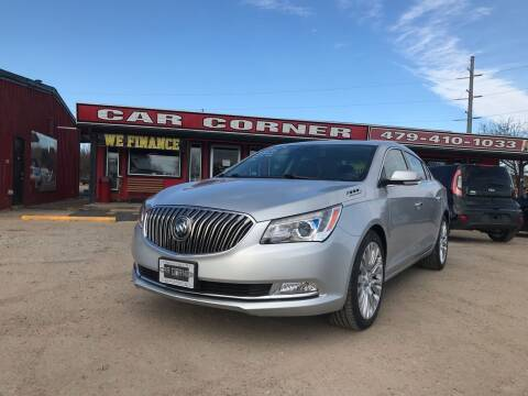 2014 Buick LaCrosse for sale at CAR CORNER in Van Buren AR