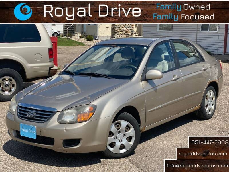 2009 Kia Spectra for sale at Royal Drive in Newport MN