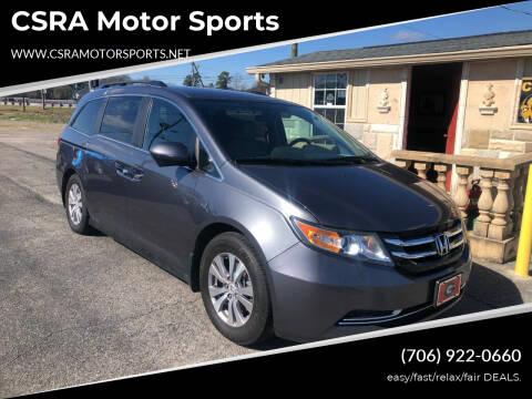 2014 Honda Odyssey for sale at CSRA Motor Sports in Augusta GA