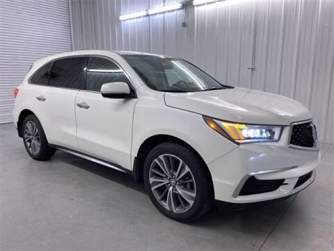 2017 Acura MDX for sale at JOE BULLARD USED CARS in Mobile AL