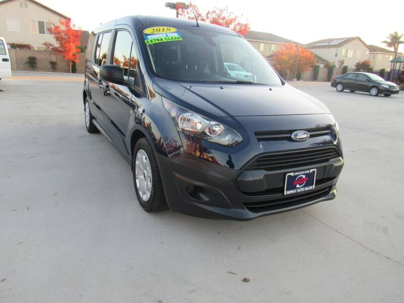 2018 Ford Transit Connect Wagon for sale at Repeat Auto Sales Inc. in Manteca CA