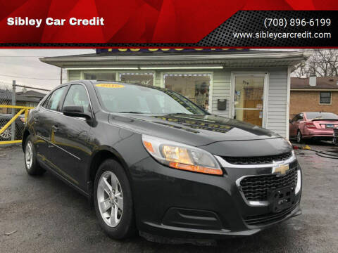 2016 Chevrolet Malibu Limited for sale at Sibley Car Credit in Dolton IL
