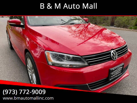 2014 Volkswagen Jetta for sale at B & M Auto Mall in Clifton NJ