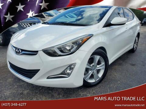 2015 Hyundai Elantra for sale at Mars auto trade llc in Kissimmee FL