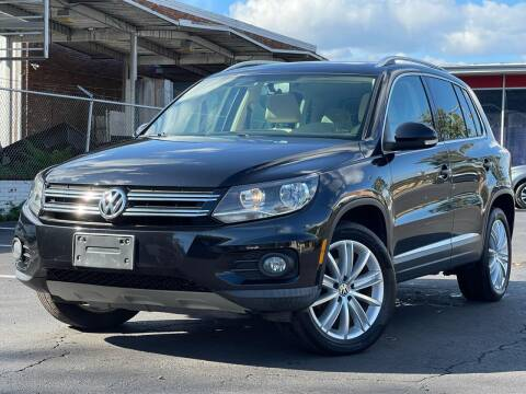 2012 Volkswagen Tiguan for sale at MAGIC AUTO SALES in Little Ferry NJ