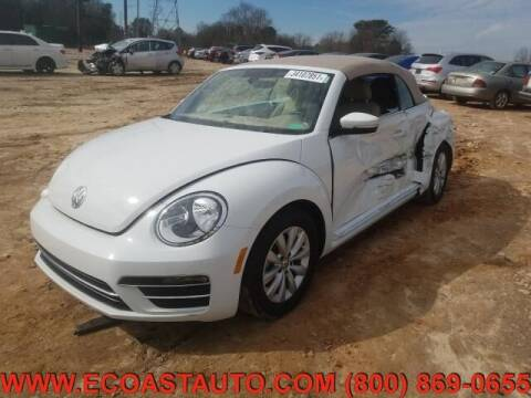 2017 Volkswagen Beetle Convertible for sale at East Coast Auto Source Inc. in Bedford VA