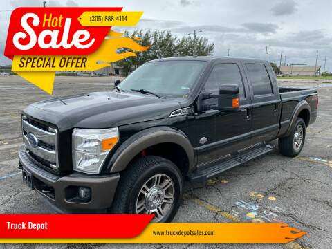2015 Ford F-250 Super Duty for sale at Truck Depot in Miami FL
