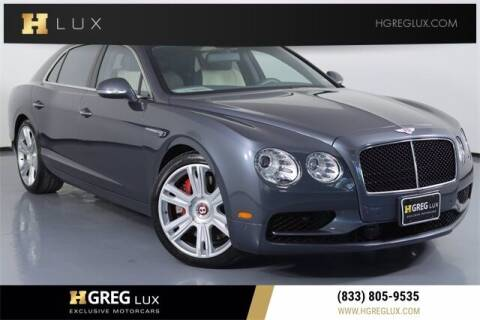 2018 Bentley Flying Spur for sale at HGREG LUX EXCLUSIVE MOTORCARS in Pompano Beach FL