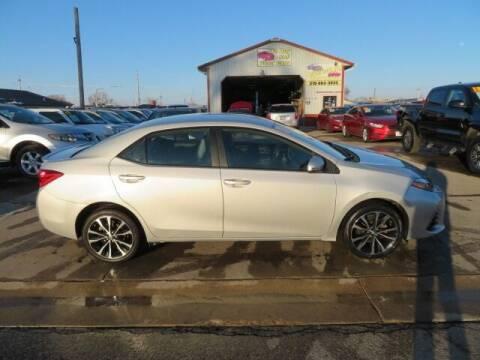 2017 Toyota Corolla for sale at Jefferson St Motors in Waterloo IA
