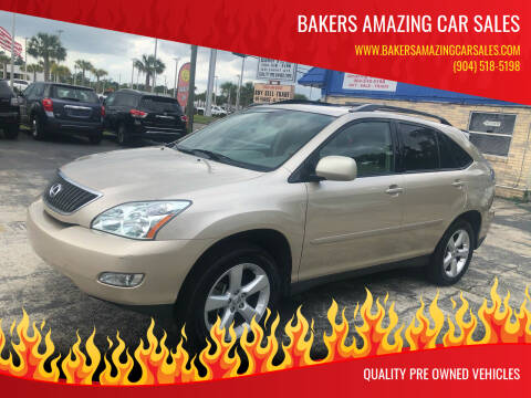 2005 Lexus RX 330 for sale at Bakers Amazing Car Sales in Jacksonville FL