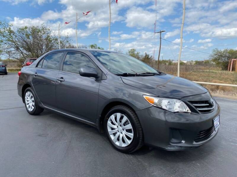 2013 Toyota Corolla for sale at Browning's Reliable Cars & Trucks in Wichita Falls TX