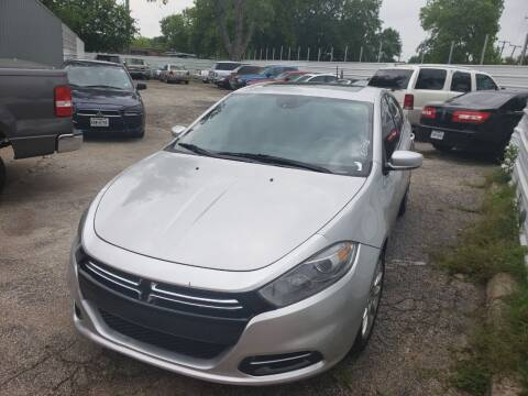 2013 Dodge Dart for sale at DFW AUTO FINANCING LLC in Dallas TX