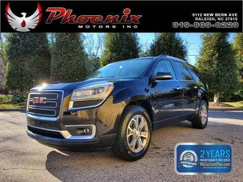 2013 GMC Acadia for sale at Phoenix Motors Inc in Raleigh NC
