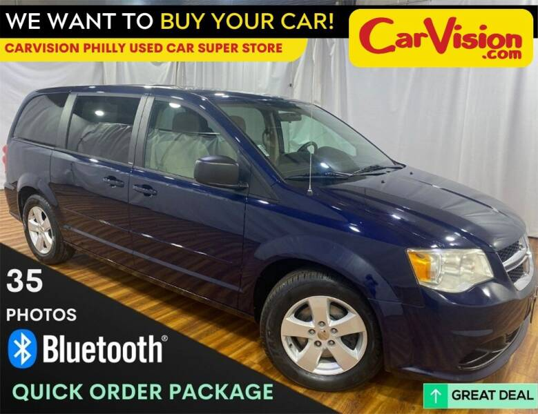 2013 Dodge Grand Caravan for sale at Car Vision Mitsubishi Norristown - Car Vision Philly Used Car SuperStore in Philadelphia PA