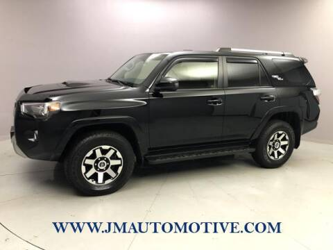2018 Toyota 4Runner for sale at J & M Automotive in Naugatuck CT