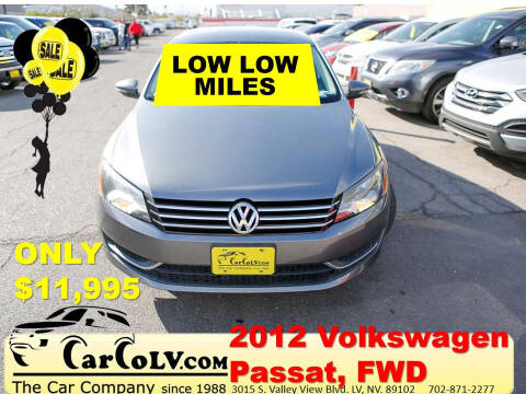 2012 Volkswagen Passat for sale at The Car Company in Las Vegas NV