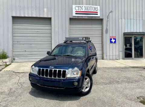 2006 Jeep Grand Cherokee for sale at CTN MOTORS in Houston TX