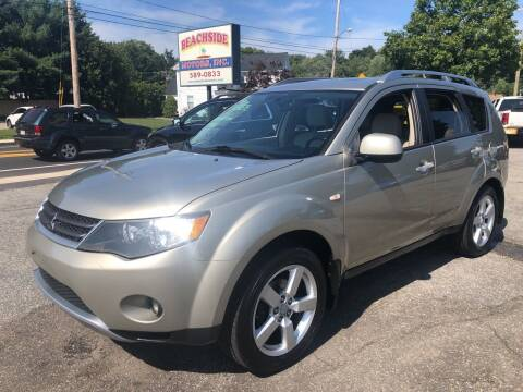 2007 Mitsubishi Outlander for sale at Beachside Motors, Inc. in Ludlow MA