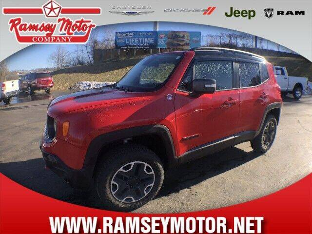 2016 Jeep Renegade for sale at RAMSEY MOTOR CO in Harrison AR