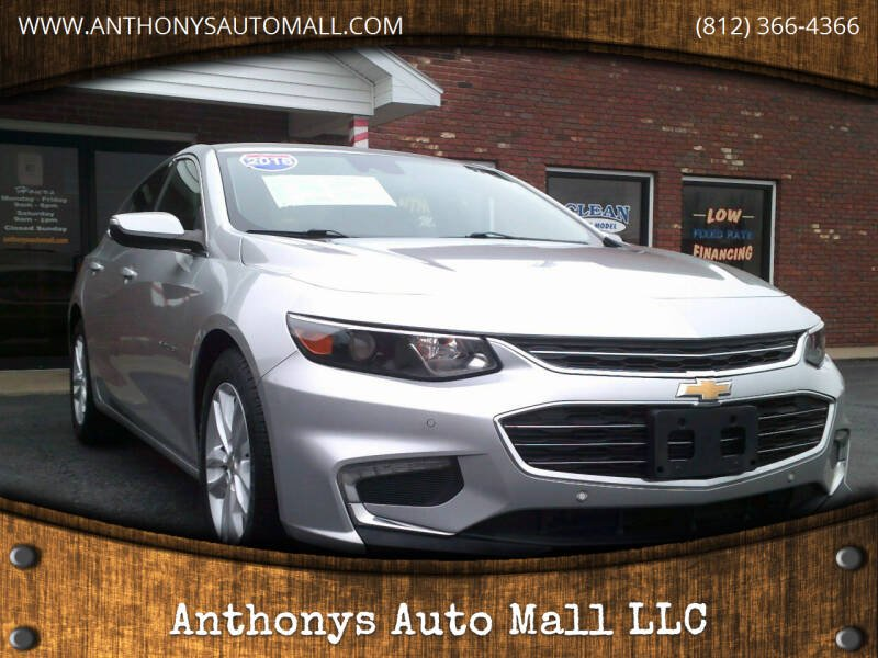 2016 Chevrolet Malibu for sale at Anthonys Auto Mall LLC in New Salisbury IN