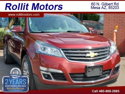 2016 Chevrolet Traverse for sale at Rollit Motors in Mesa AZ