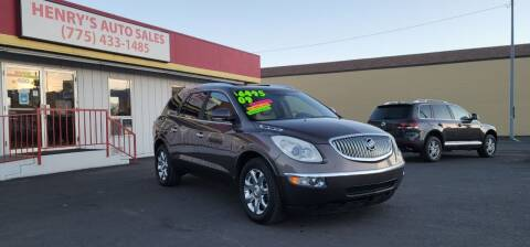 2009 Buick Enclave for sale at Henry's Autosales, LLC in Reno NV
