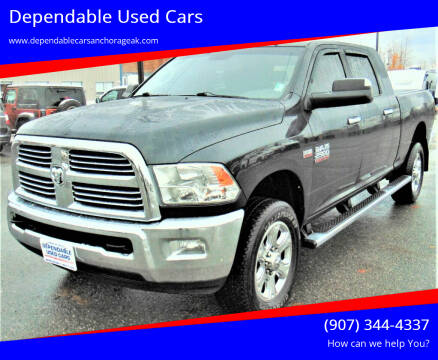 2015 RAM Ram Pickup 2500 for sale at Dependable Used Cars in Anchorage AK