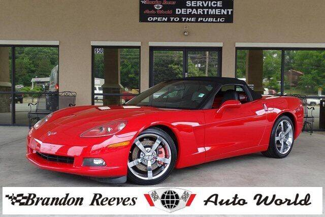 2005 Chevrolet Corvette for sale at Brandon Reeves Auto World in Monroe NC