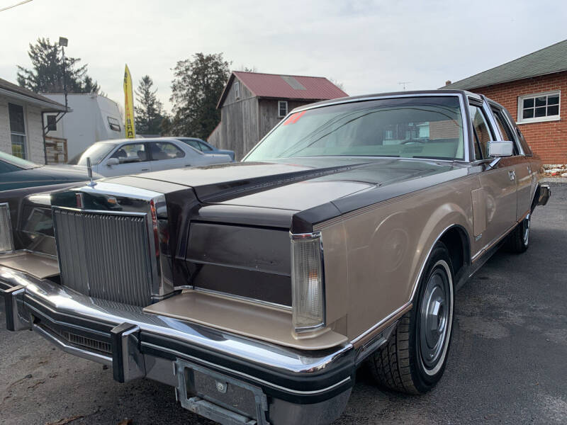 1981 Lincoln Mark VI for sale at Waltz Sales LLC in Gap PA