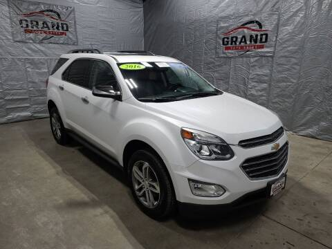 2016 Chevrolet Equinox for sale at GRAND AUTO SALES in Grand Island NE