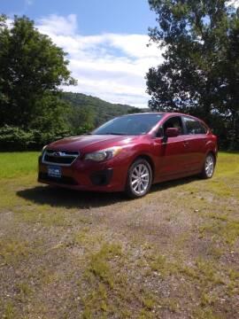2012 Subaru Impreza for sale at Valley Motor Sales in Bethel VT