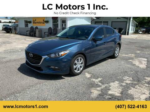 2018 Mazda MAZDA3 for sale at LC Motors 1 Inc. in Orlando FL