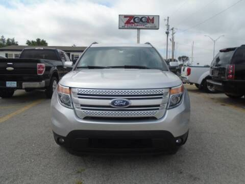 2015 Ford Explorer for sale at Zoom Auto Sales in Oklahoma City OK