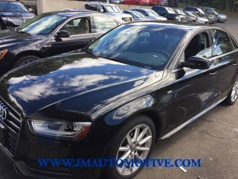 2015 Audi A4 for sale at J & M Automotive in Naugatuck CT