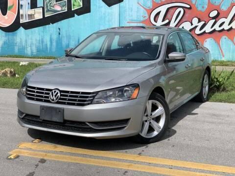 2013 Volkswagen Passat for sale at Palermo Motors in Hollywood FL