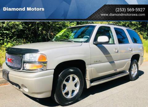 2004 GMC Yukon for sale at Diamond Motors in Lakewood WA
