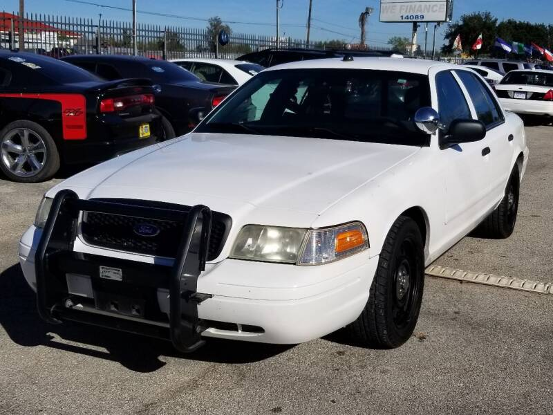 2008 Ford Crown Victoria for sale at Ace Automotive in Houston TX