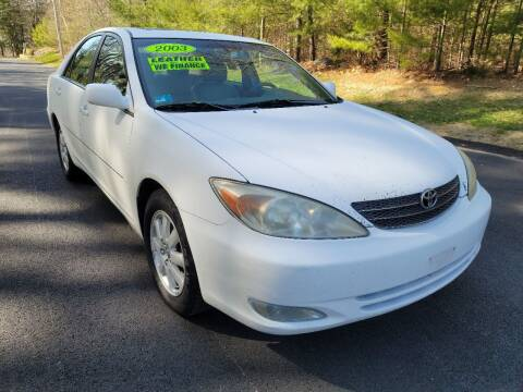 2003 Toyota Camry for sale at Showcase Auto & Truck in Swansea MA