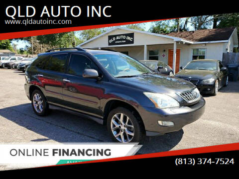 2009 Lexus RX 350 for sale at QLD AUTO INC in Tampa FL