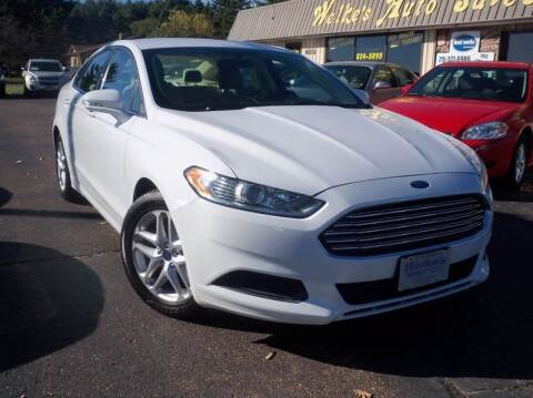 2015 Ford Fusion for sale at Welkes Auto Sales & Service in Eau Claire WI