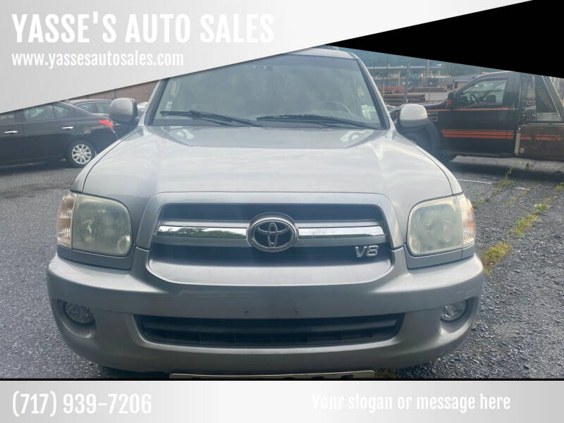 2006 Toyota Sequoia for sale at YASSE'S AUTO SALES in Steelton PA
