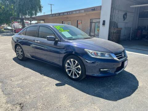 2015 Honda Accord for sale at Salas Auto Group in Indio CA