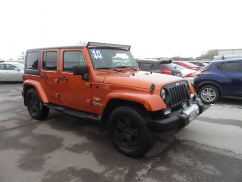 2010 Jeep Wrangler Unlimited for sale at America Auto Inc in South Sioux City NE